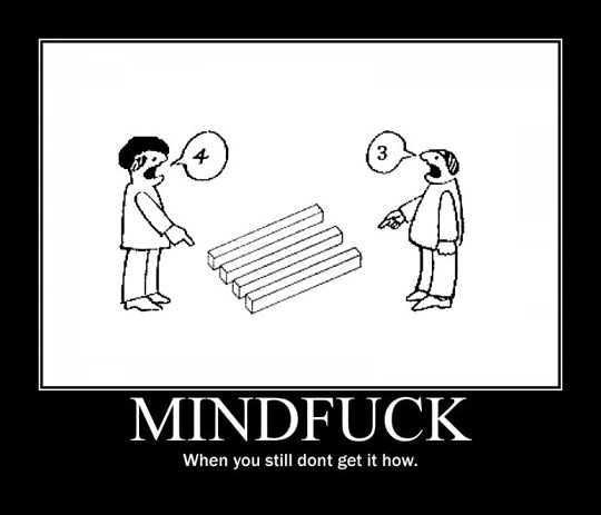 Drawn optical illusion funny Meta impossible The drawing it's