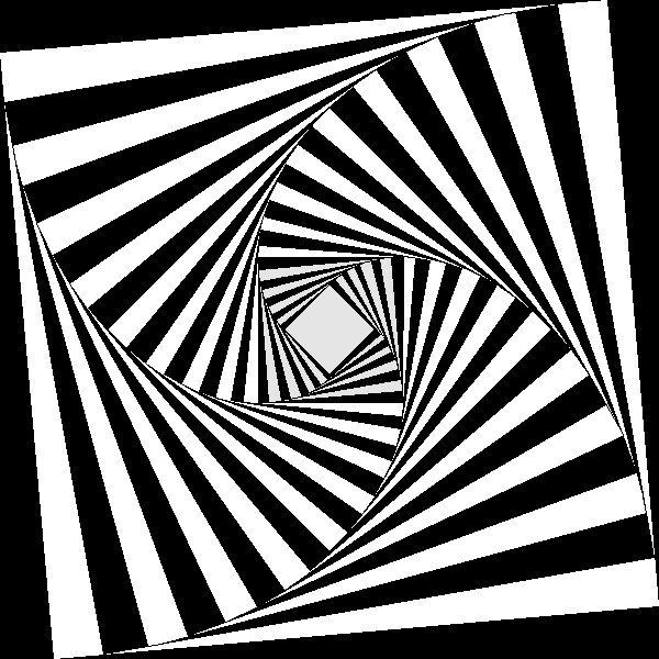 Drawn optical illusion geometric Images on 216 my Pin