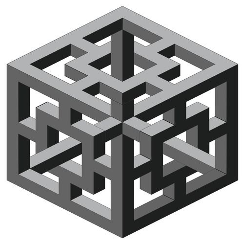 Drawn optical illusion geometric Best Pinterest drawing OPTICAL images
