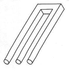 Drawn optical illusion geometric #Illusions com tutorial lines www