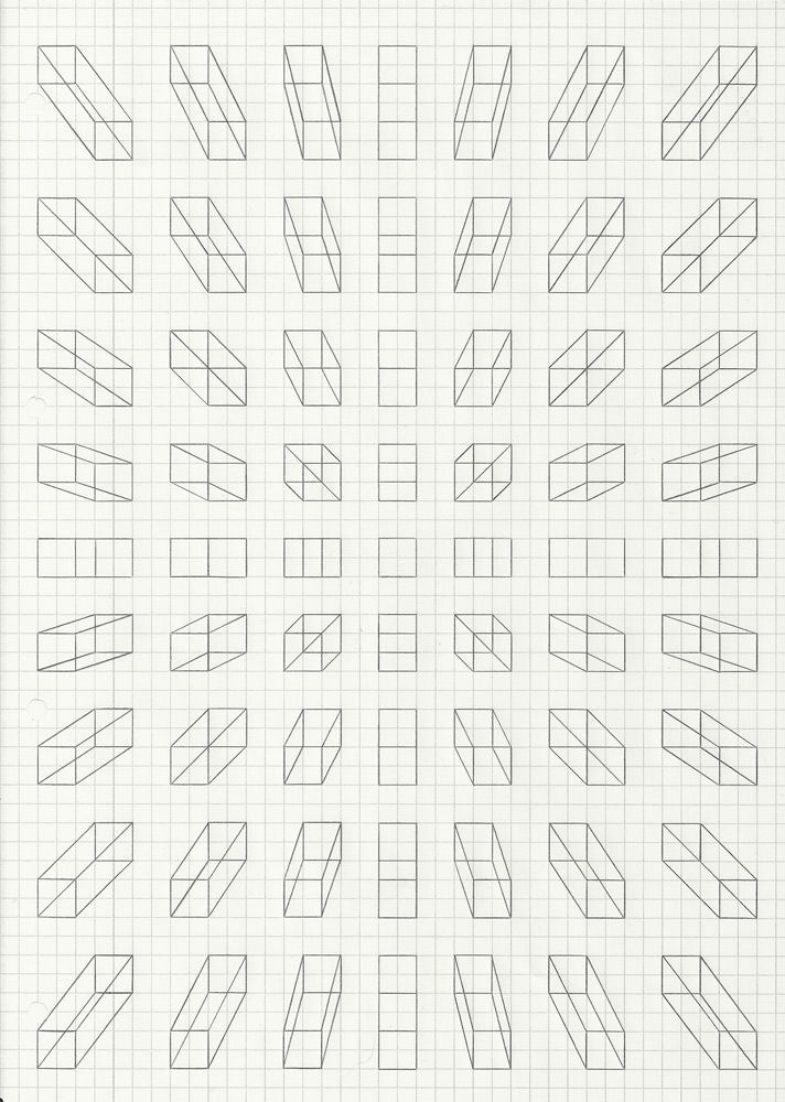 Drawn optical illusion graph paper Best paper Paper 25+ Pinterest