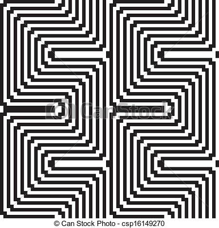 Illusion clipart art black and white And Pattern in optical in