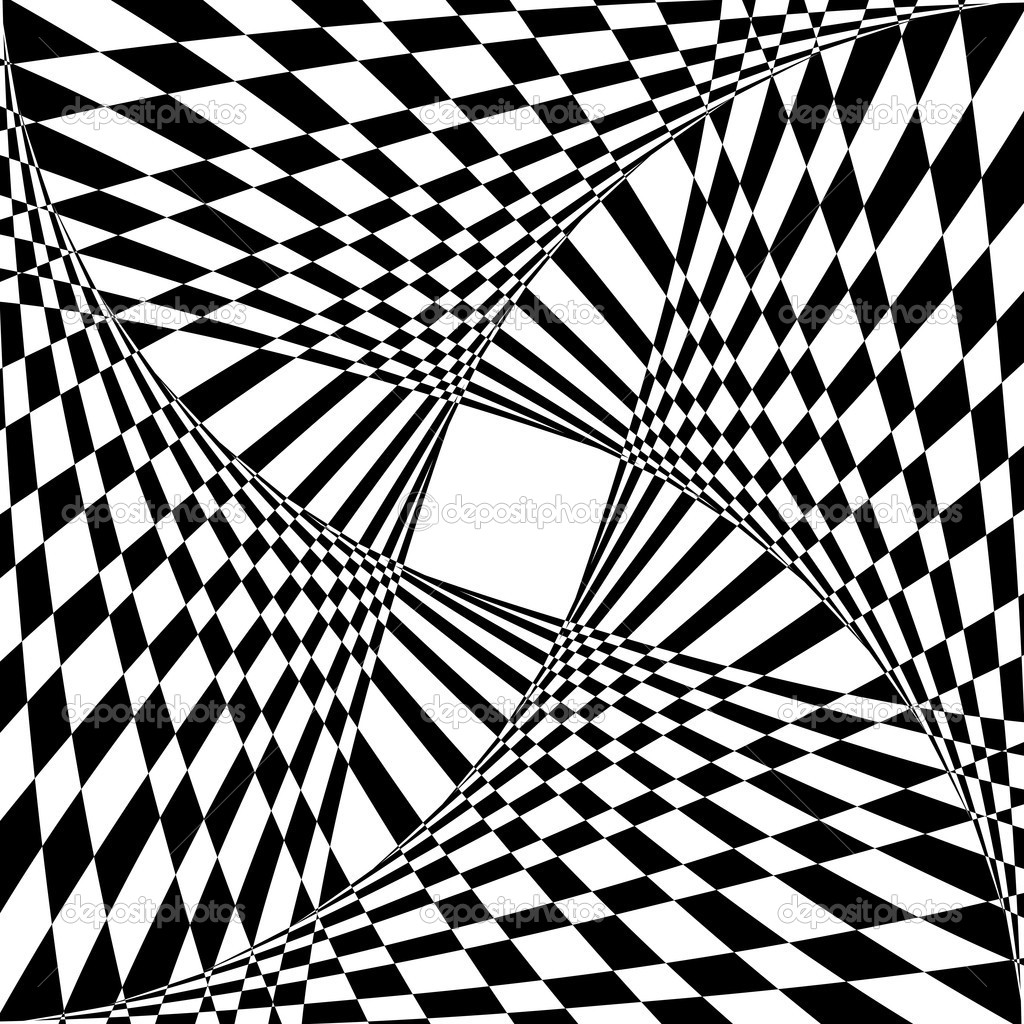 Drawn optical illusion hard Coloring for Hard for Older