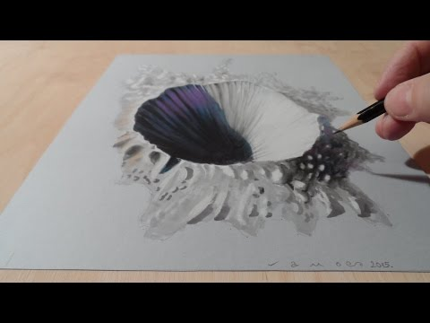 Drawn 3d art hole YouTube 3D  Drawing Hole