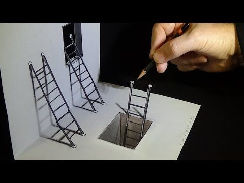 Drawn amd illusion 3D Draw images Drawing Optical