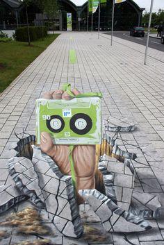Drawn optical illusion ice Catalog itself street world's of