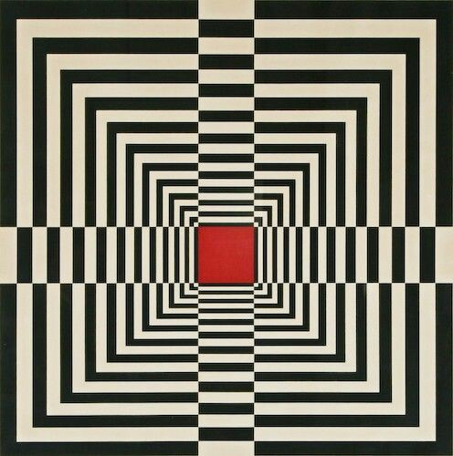 Drawn optical illusion ilusion óptica pattern illusion design rpm