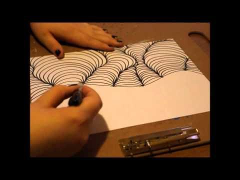 Drawn optical illusion ilusion To 3D on Trick Image