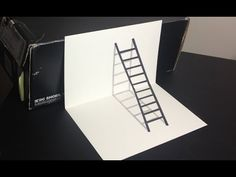 Drawn optical illusion ilusion Ladder Illusion Ladders How Optical
