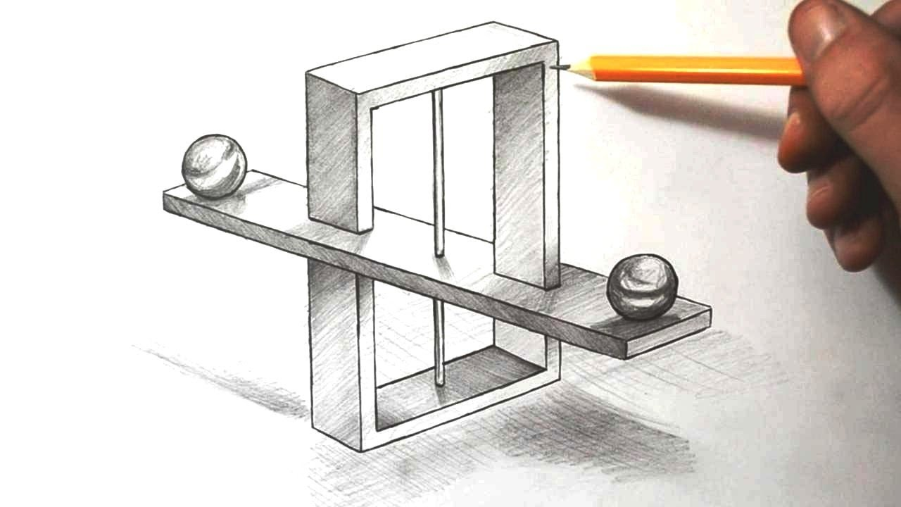 Drawn optical illusion impossible Impossible to YouTube Optical Draw