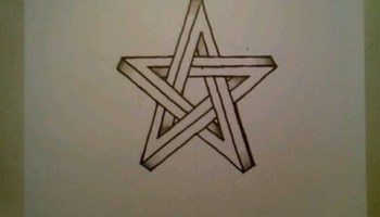 Drawn optical illusion impossible Shape To To How Star