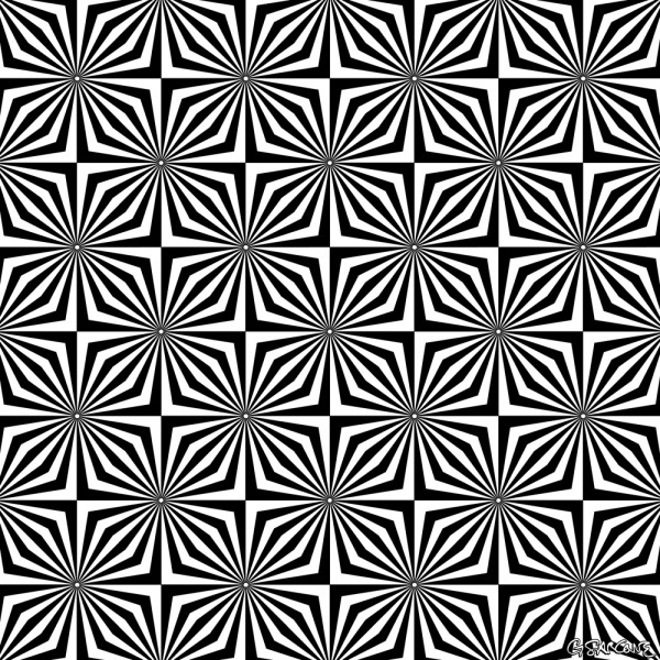 Drawn optical illusion incredible By Imagine Optical Sarcone Sparkling