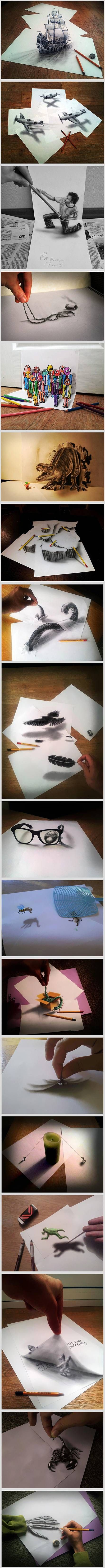 Drawn optical illusion incredible Ideas drawings and Pinterest optical