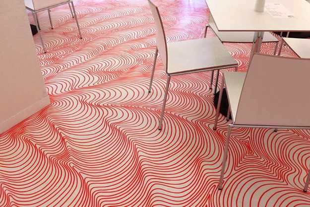 Drawn optical illusion interior design Impressive interior and optical Drawn