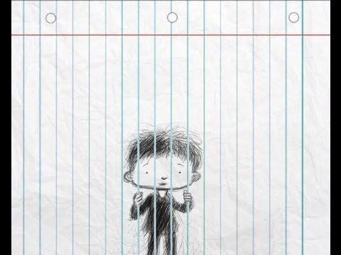 Drawn optical illusion lined paper On paper YouTube Drawing lined