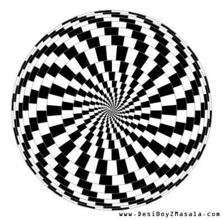 Drawn optical illusion mind bending On Optical Pin more Mind