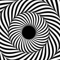 Drawn optical illusion mind bending D Kidby Meet · by
