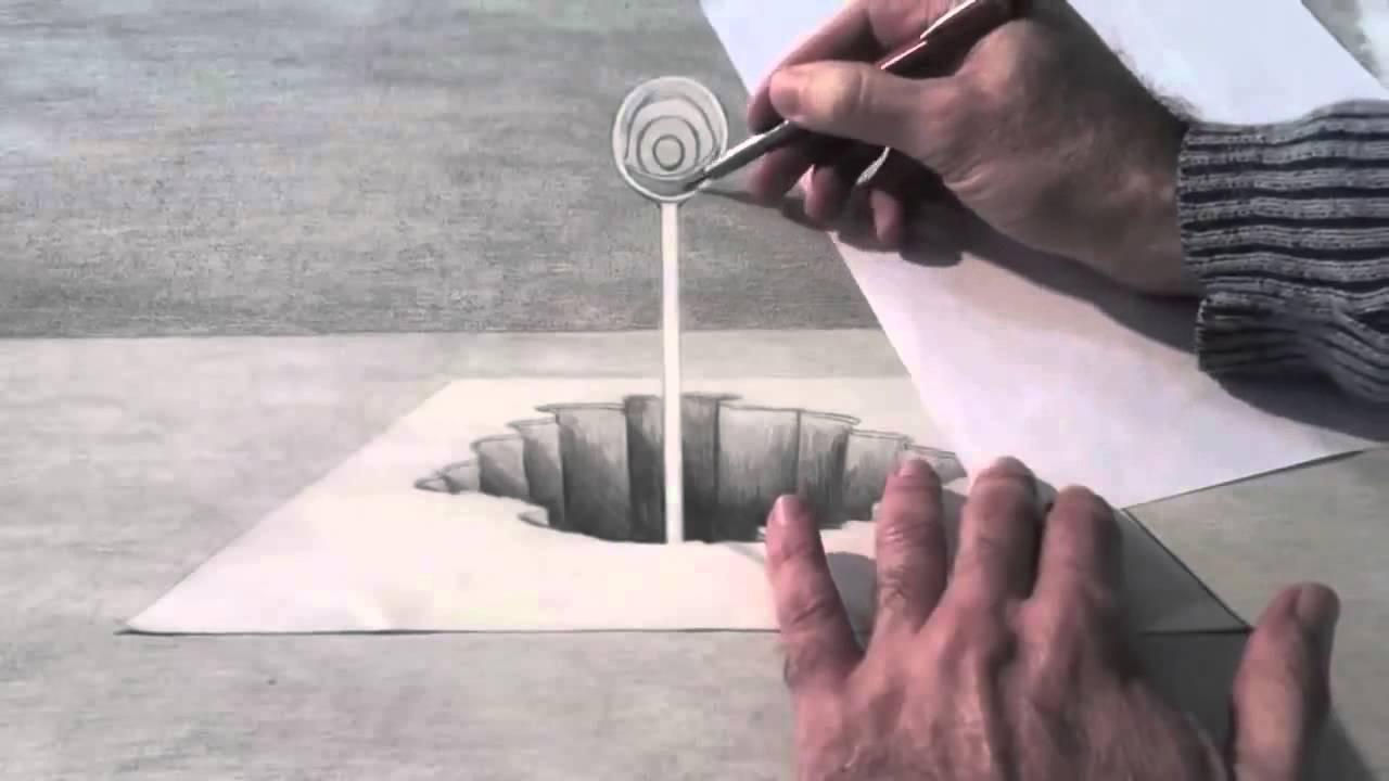 Drawn optical illusion naruto Art How Fine a Art