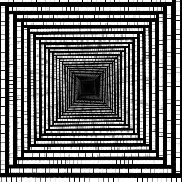 Drawn optical illusion obstacle & Illusion c Illusions Pinterest
