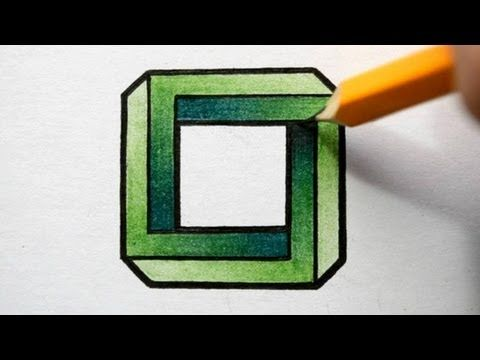 Drawn optical illusion obstacle Me on How Pinterest illusion