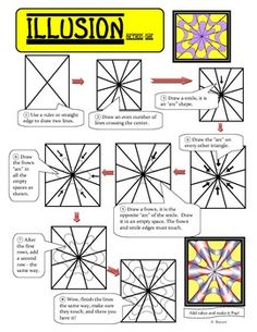 Drawn optical illusion op art On OP Lesson: and Using