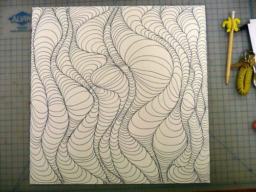 Drawn optical illusion op art Optical Illusion own your Design