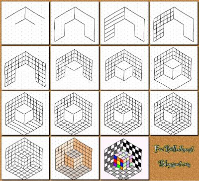 Drawn optical illusion op art Art LessonsOptical images explained ART