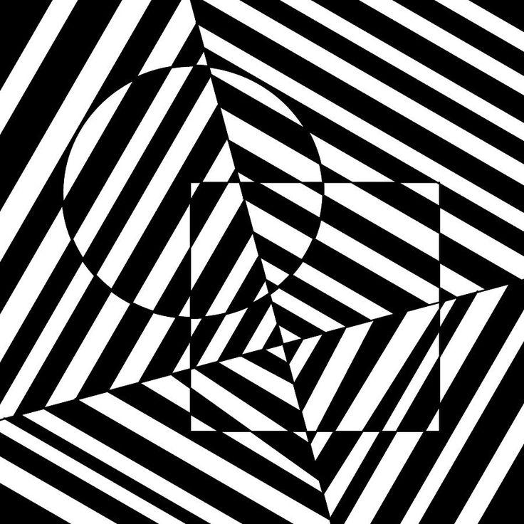 Drawn bus optical illusion #7