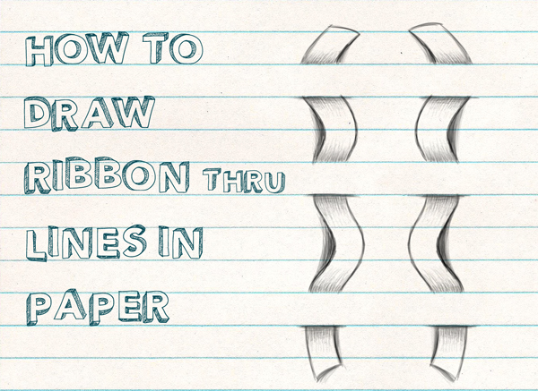 Drawn optical illusion paper for kid Through Tutorial Kids to Beginners