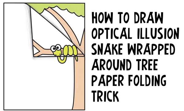 Drawn snake kid Step Wrapped Stuff Tutorial Cool