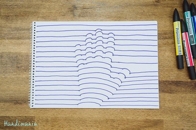 Drawn optical illusion paper for kid Your a Optical to Optical