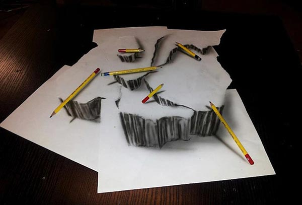 Drawn 3d art illusion Art 12 Collection pencil Drawings