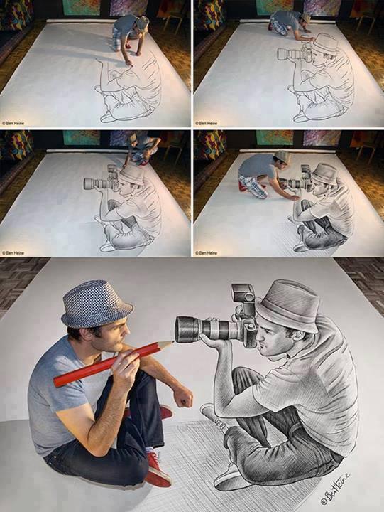 Drawn illusion popular #4