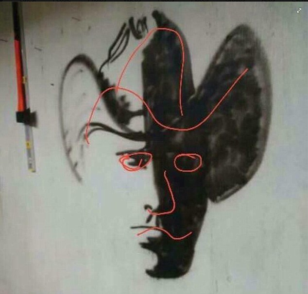 Drawn optical illusion person This into showed work frenzy
