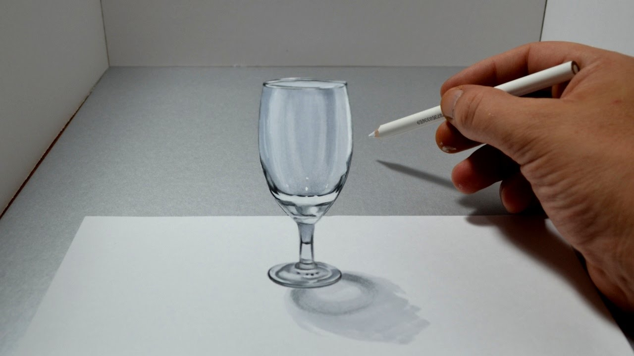 Drawn glass paper #2