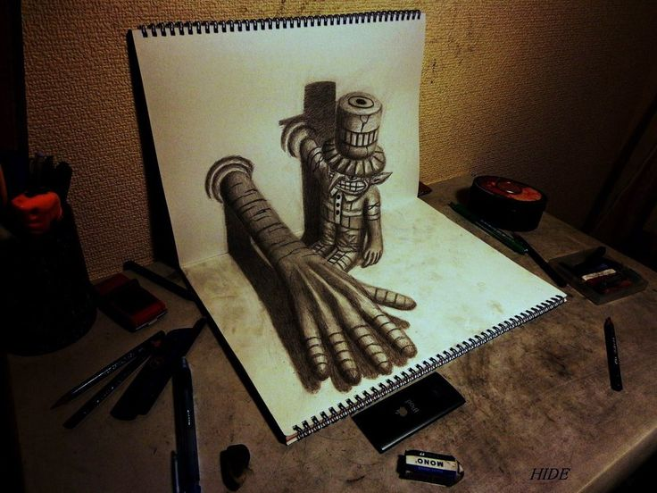 Drawn optical illusion printable 3d Best on Optical drawings ideas