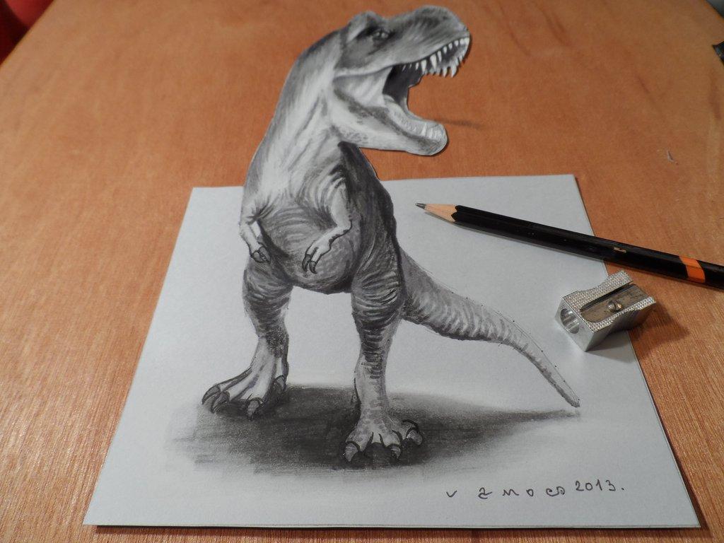Drawn shark vamos Blog 08 3D 3D