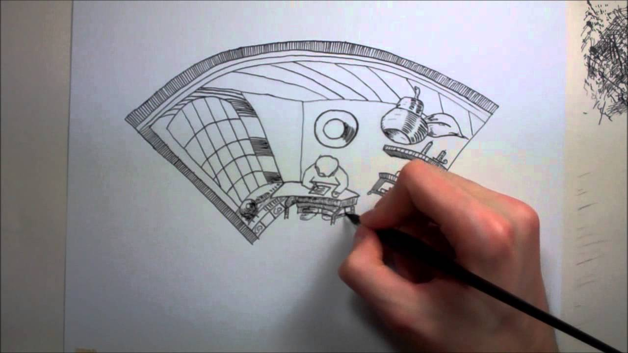 Drawn optical illusion quick Drawing YouTube Simple Drawing Simple