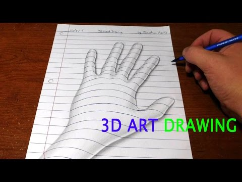 Drawn optical illusion quick To 3D Optical For Draw