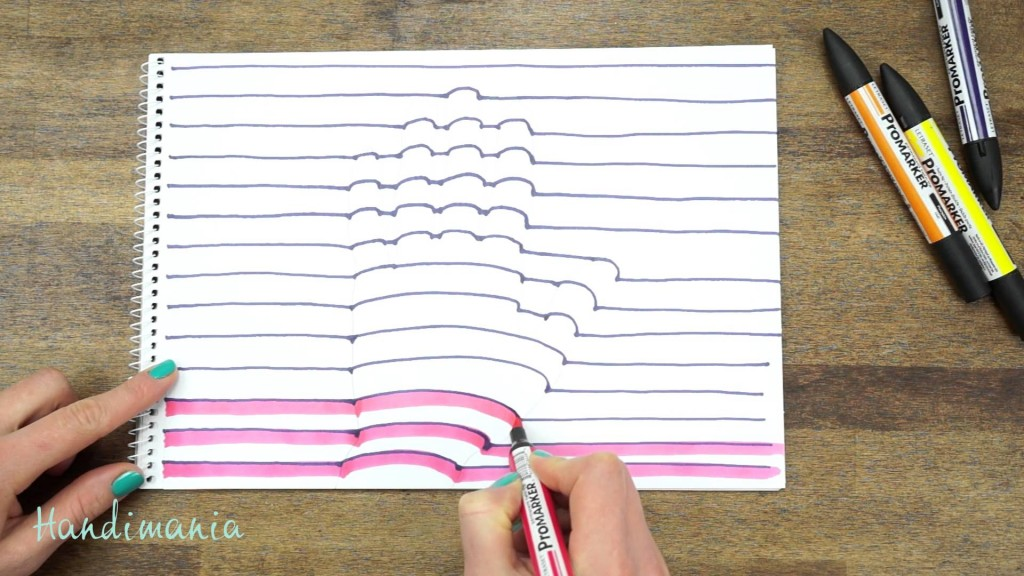 Drawn optical illusion quick Kid Draw The Should Your