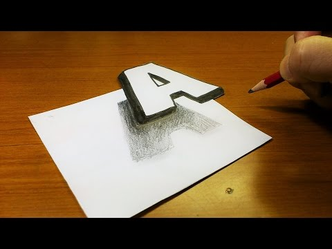 Drawn optical illusion really Easy!! How Art Drawing Easy!!
