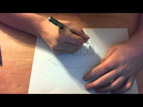 Drawn optical illusion ripped paper Tips: Page 3D Rip Illusion