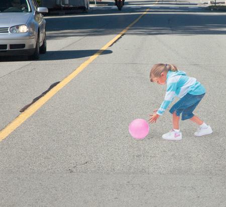 Drawn optical illusion road Illusion to Illusion Speed used