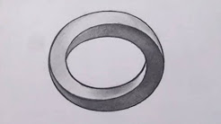 Drawn optical illusion shape Impossible Impossible Drawing YouTube Optical