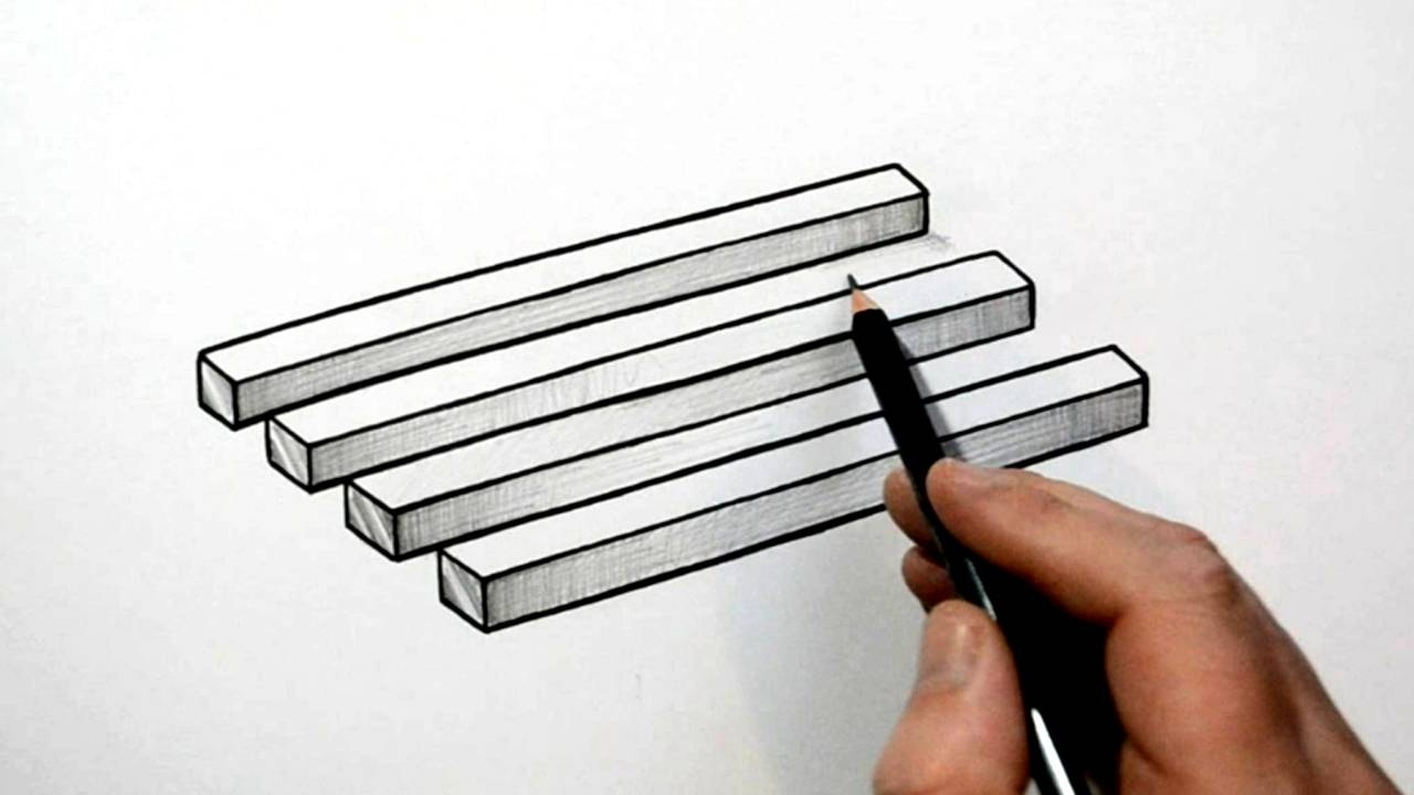 Drawn optical illusion simple To Draw Optical Simple Optical