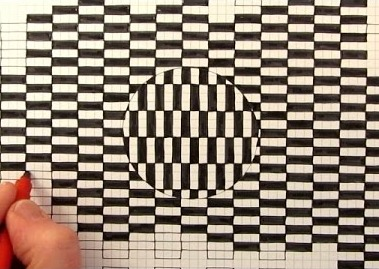Drawn optical illusion simple Simple Optical to Way Amazingly
