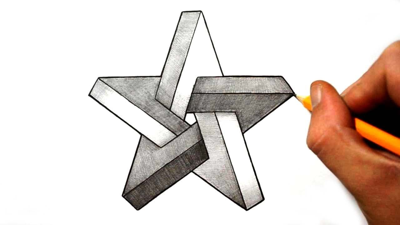 Drawn optical illusion star How Star an to YouTube