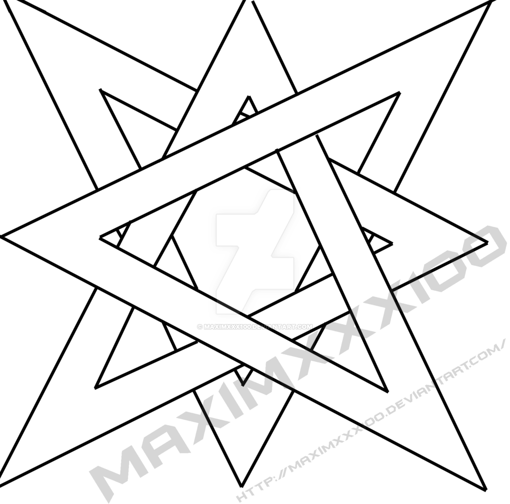 Drawn stars optical illusion On DeviantArt star by Illusion