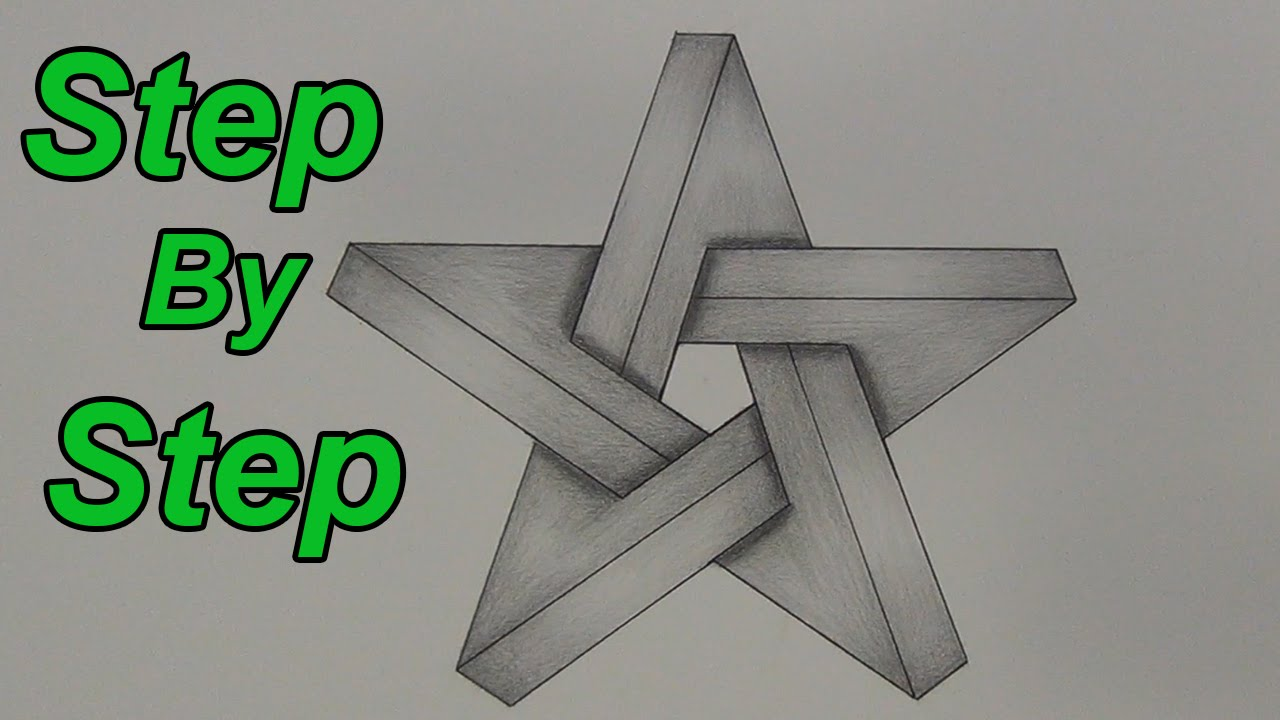 Drawn stars impossible Draw Step An Draw Impossible