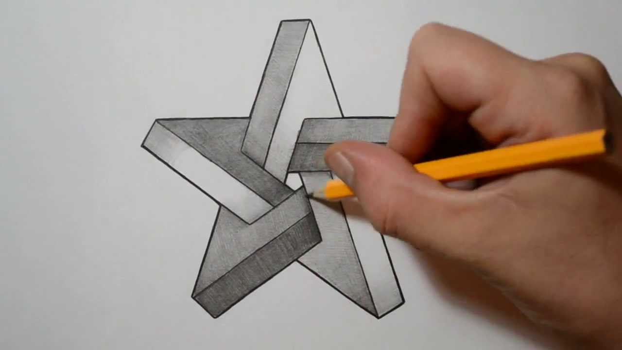 Drawn optical illusion star To How Illusion Optical Optical
